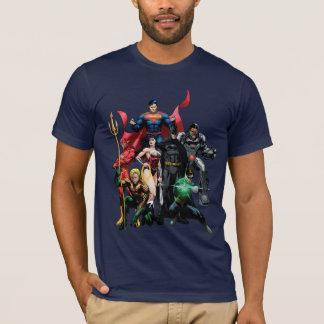 T-shirt Ligue de justice - groupe 2