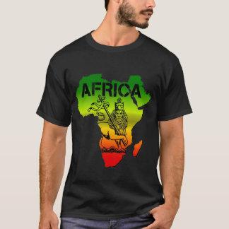 T-SHIRT LION AFRIQUE