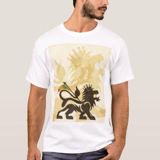T-shirt Lion Tan de Ras