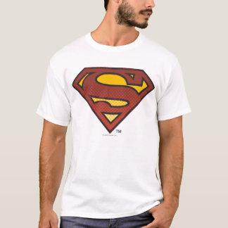 T-shirt Logo de points fané par   de S-Bouclier de
