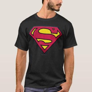 T-shirt Logo de saleté du S-Bouclier   de Superman