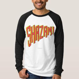 T-shirt Logo de Shazam rouge/jaune