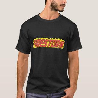 T-shirt Logo de tempête de feu