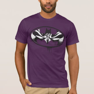 T-shirt Logo d'égouttement de Batman