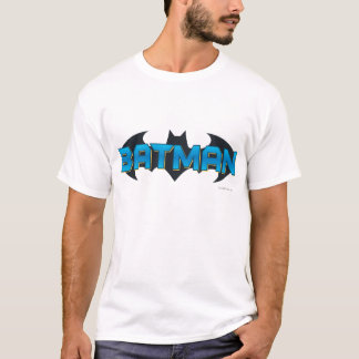 T-shirt Logo nommé bleu de Batman |