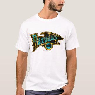 T-shirt Logo vintage de turquoise de Batman |