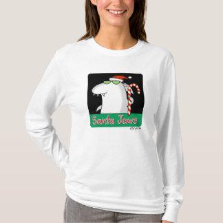 T-shirt Mâchoires de Père Noël