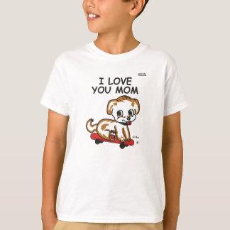 T-shirt Maman maximum de Lil de cadeau de fête des mères