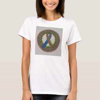 T-shirt Mandala pour le cancer du sein métastatique