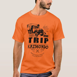 T-Shirt Männer - AUTOREISE KAZMONDO
