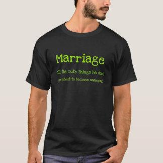 T-shirt Mariage