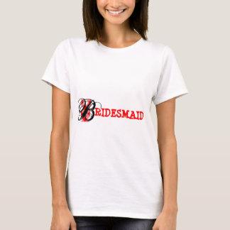 T-shirt Mariage de domestique de jeunes mariées