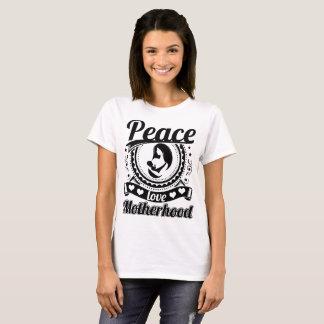 T-shirt Maternité d'amour de paix