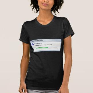 T-shirt Maternité en cours de téléchargement de bébé de