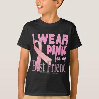 T-shirt Meilleur ami de conscience de cancer du sein