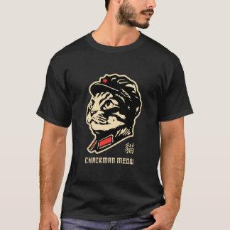 T-shirt Meow de Président ! Décrit