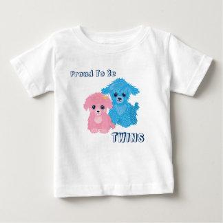 T-shirt mignon de nourrisson de chiot