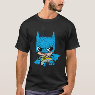 T-shirt Mini croquis de Batman