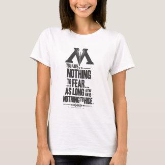 T-shirt Ministère du charme | de Harry Potter de la