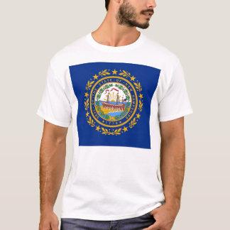 T-Shirt mit Flagge von New Hampshire Staat USA