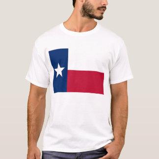 T-Shirt mit Flagge von Texas-Staat USA