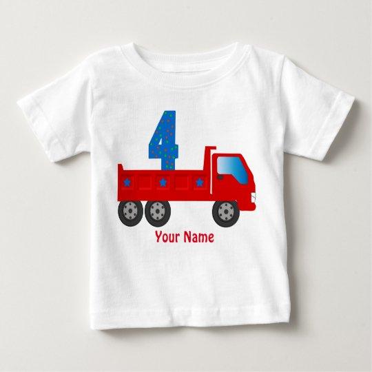 T - Shirt mit Nr. 4