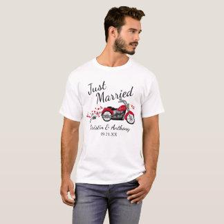 T-shirt Moto juste mariée