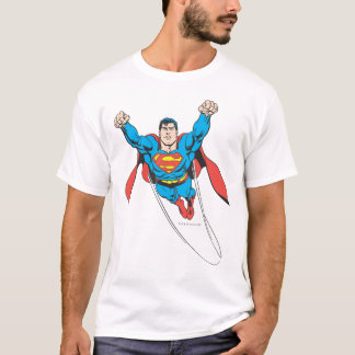 T-shirt Mouches de Superman en avant