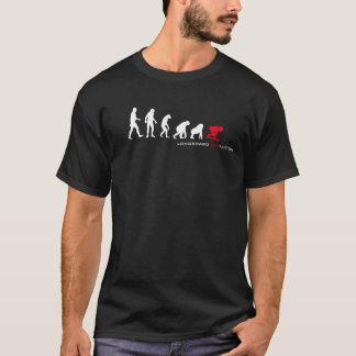 T-shirt Obscurité d'évolution de Longboard