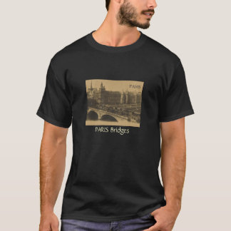 T-shirt Paris le pont du changement