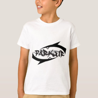 T-shirt Parkour abstrait