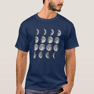 T-shirt Phases de lune