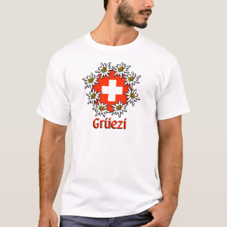T-shirt Pièce en t de base de Gruezi