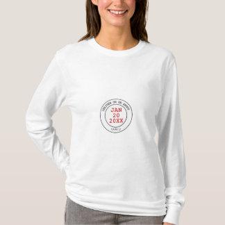 T-shirt Pièce en t de maternité d'échéance de la livraison