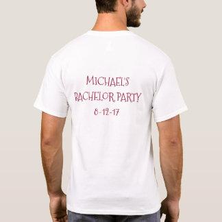 T-shirt Pièce en t d'enterrement de vie de jeune garçon de