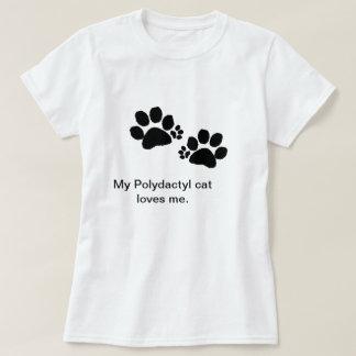 T - Shirt - Polydactyl Katzentatzen - Frauen