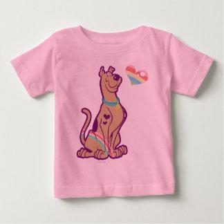 T-shirt Pour Bébé Arc-en-ciel Scooby-Doo