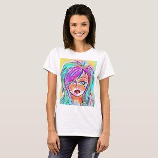 T-shirt Poussin au néon d'Emo