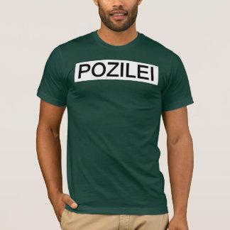 T-SHIRT POZILEI VERT