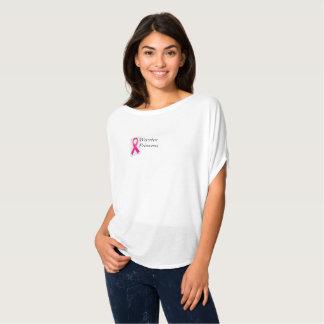 T-shirt Princesse de guerrier de cancer du sein