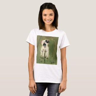 T - Shirt Prinzessin-Toytastic Yawning Puppy