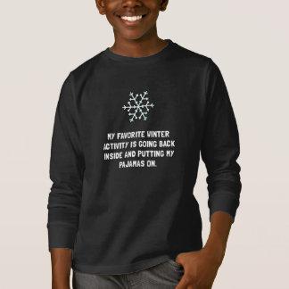 T-shirt Pyjamas d'hiver