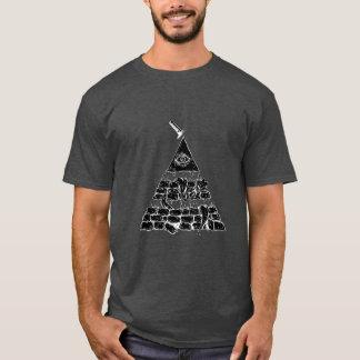 T-shirt Pyramid of an eye //T-Shirt