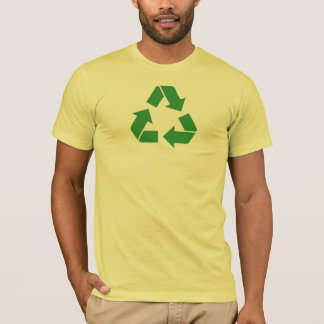 T-shirt recyclable