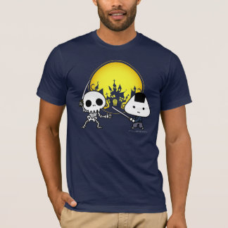 T - Shirt - RiceBall Samurai GEGEN Skelett
