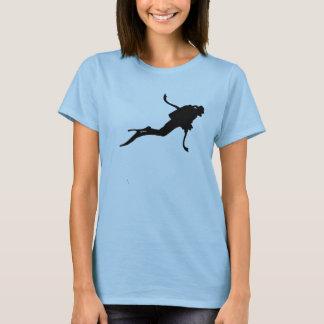 T-shirt Scuba diver