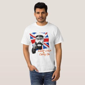 T-shirt Seigneur Kitchener Keep Calm et continuent