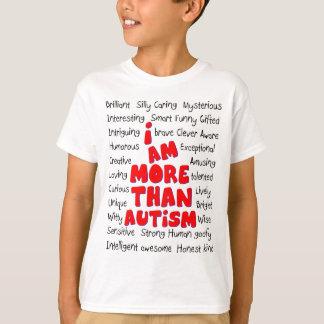T-shirt Sensibilisation sur l'autisme - plus que l'autisme