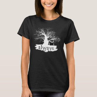 T-shirt Silhouette de citation du charme | de Harry Potter