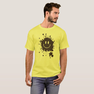 T-shirt Smiley Forrest Gump de boue